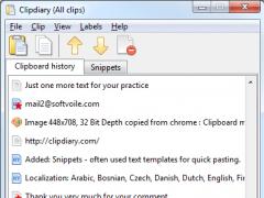 Clipdiary 5.11 Screenshot