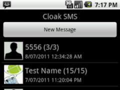 Cloak SMS 3.6 Screenshot