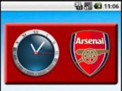 Clock - Arsenal FC 1.0 Screenshot