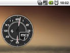 Clock Battery Ferrari F12 Free 1.5 Screenshot