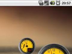 Clock Battery Ferrari Free 1.5 Screenshot