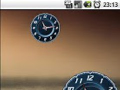 Clock Widget Lamborghini Free 1.0 Screenshot