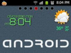 Cloth Theme Go Launcher Ex 1.0 Screenshot
