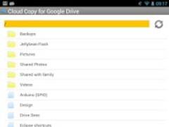 Cloud Copy for Google Drive 1.2 Screenshot