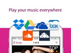 Cloud Music Player Pro - Search Music Free and Manage Songs for Cloud Services 1.5.5 Screenshot