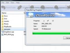 Cloud Drive 0.68 Screenshot