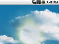 Cloudy Sky Live Wallpaper 1.9.2 Screenshot