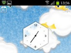Cloudy Theme Rabbit Launcher 1.0 Screenshot
