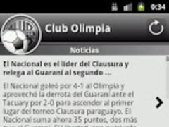 Club Olimpia For Fans 1.4.5 Screenshot