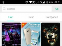 Review Screenshot - Give Your Android Handset a Dynamic Interface with 3D Themes!