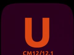 CM12.x/CM13 Ubuntu Dark Theme 5.1 Screenshot