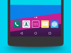 CM13/12.X LG G4 Theme 4.0.2 Screenshot