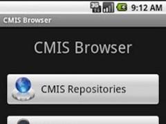 CMIS Browser 0.9.6 Screenshot