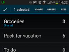 Co-op List 2.0.6 Screenshot