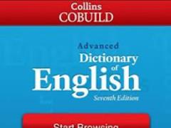 COBUILD Advanced Dictionary 1.1 Screenshot