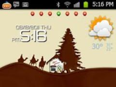 CocoaChristmas Go Launcher 1.0 Screenshot