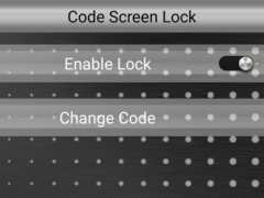 Code Lock Screen 1.2 Screenshot