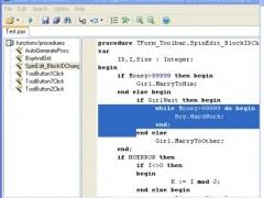 Code to FlowChart for Win7 1.5.1 Screenshot