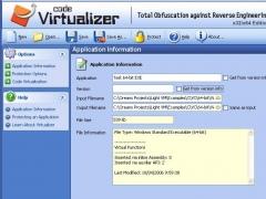 Code Virtualizer 1.340 Screenshot