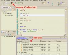 Codenizer4Eclipse 1.0.0 Screenshot