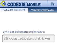 CODEXIS Mobile 2.1 Screenshot