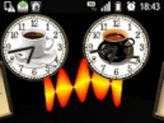 Coffee Break clock widget 1.0.1 Screenshot
