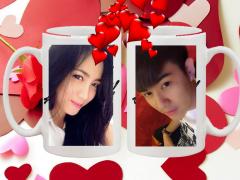 Coffee cup frames Love Frames 1.0 Screenshot