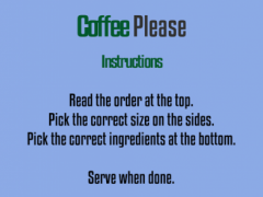Coffee Please  Screenshot