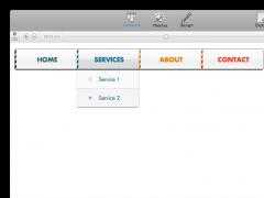 CoffeeCup Menu Builder for OS X 1.5.56 Screenshot