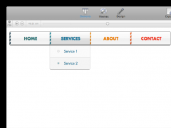 CoffeeCup Menu Builder 1.5.56 Screenshot