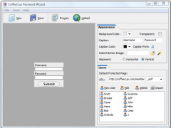 CoffeeCup Password Wizard 6.0 Screenshot