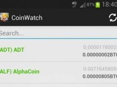CoinWatch - Crypto Coin Prices 1.0 Screenshot
