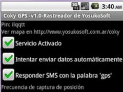 Coky GPS 1.1g Screenshot