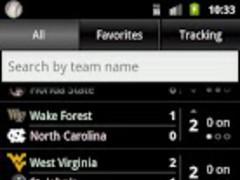 College Baseball Tracker 1.4.0 Screenshot