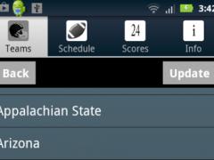 College Football Radio &Scores 1.4 Screenshot