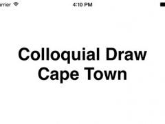 Colloquial Draw Cape Town 1.0 Screenshot