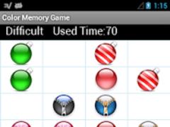Color Ball Memory Game 1.0 Screenshot