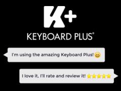 Color Blue Keyboard Theme 3.0.9 Screenshot