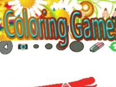 Color For Kids Game sonic Hedgehog Edition 1.0 Screenshot