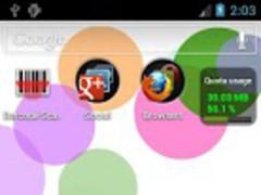 Colorballs Live Wallpaper 1.2 Screenshot