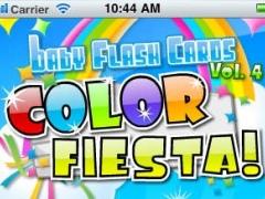 ColorFiesta Baby Flash Cards Vol 4 1.02 Screenshot
