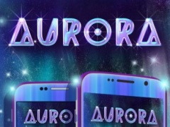 Colorful Aurora Keyboard Theme 3.5 Screenshot