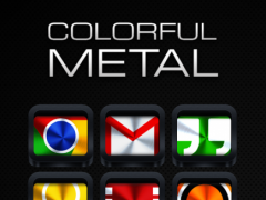 Colorful Metal - Icon Pack 3.1.0 Screenshot