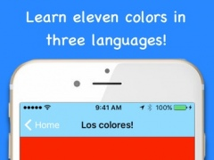Colorific! - A Fun Color Game and Learning Experience for Kids and Adults to Learn and Pronounce Colors in English, Spanish, and French! 1.0 Screenshot
