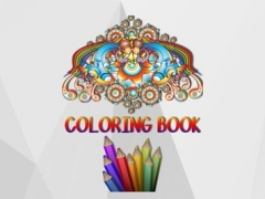 Coloring Book for Adult.s–Doodle & Paint Color App 1.0 Screenshot