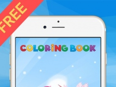 Coloring Book For Little Pony - Horse drawing for kid game 1.1 Screenshot