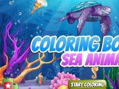 Coloring Book Sea Animals 1.1 Screenshot