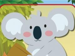 Coloring Cartoon Book Wild Koala preschool and kindergarden 1.0.0 Screenshot