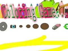 Coloring For Kids Game strom Edition 1.0 Screenshot