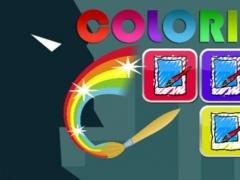 Coloring Kids Game for Lego Batman Version 1.0 Screenshot
